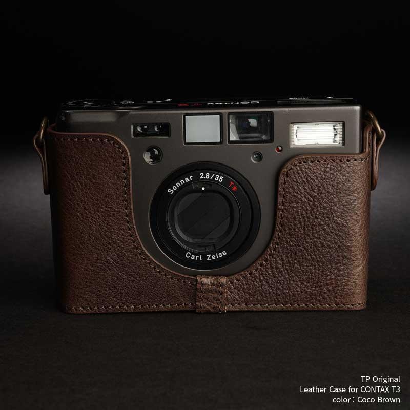 バッグ・ケース, コンパクトカメラ用カメラケース TP Original Leather Camera Body Case for Contax T3 Coco Brown Classic Series TB05T3-CO