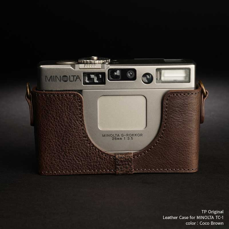 バッグ・ケース, コンパクトカメラ用カメラケース TP Original Leather Camera Body Case for MINOLTA TC-1 Coco Brown Classic Series TB05TC1-CO