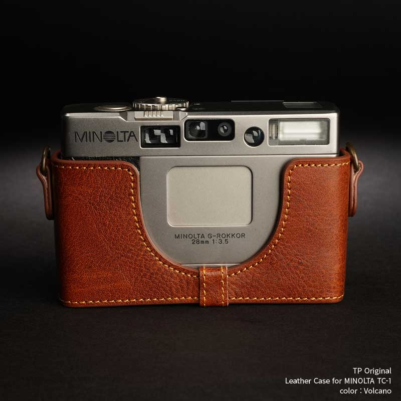 バッグ・ケース, コンパクトカメラ用カメラケース TP Original Leather Camera Body Case for MINOLTA TC-1 Volcano Classic Series TB05TC1-LB