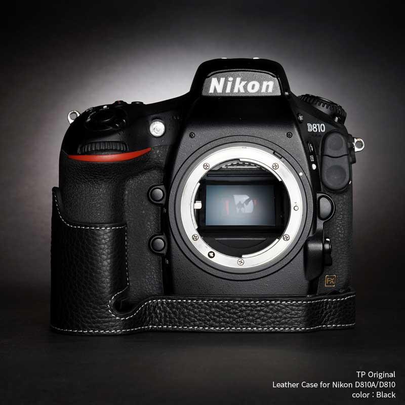 バッグ・ケース, 一眼レフ用カメラケース TP Original Leather Camera Body Case for Nikon D810AD810 Black EZ Series TB06D810-BK