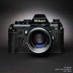 ご予約受付中 TP Original Nikon F3 専用 レザー カメラケース Black ブラック おしゃれ 速写ケース TB05F3-bk