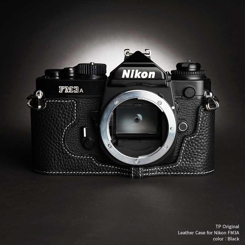 バッグ・ケース, 一眼レフ用カメラケース TP Original Nikon FM3A Black TB05FM3A-BK