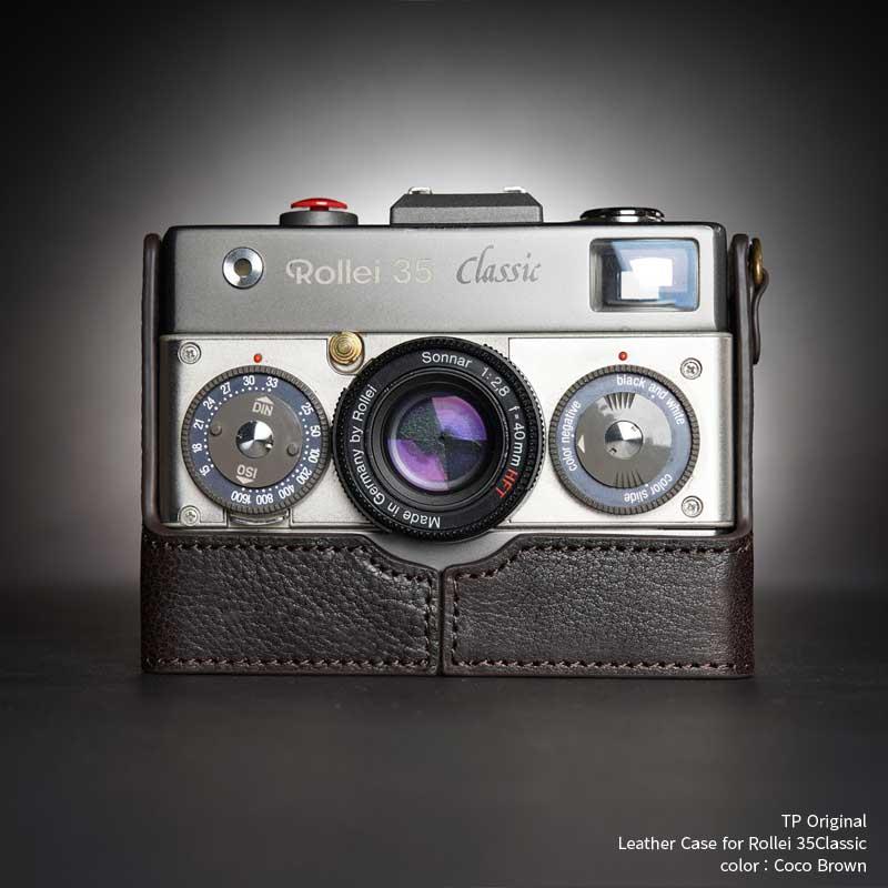 バッグ・ケース, コンパクトカメラ用カメラケース TP Original Rollei 35Classic Coco Brown TB0535CLA-CO
