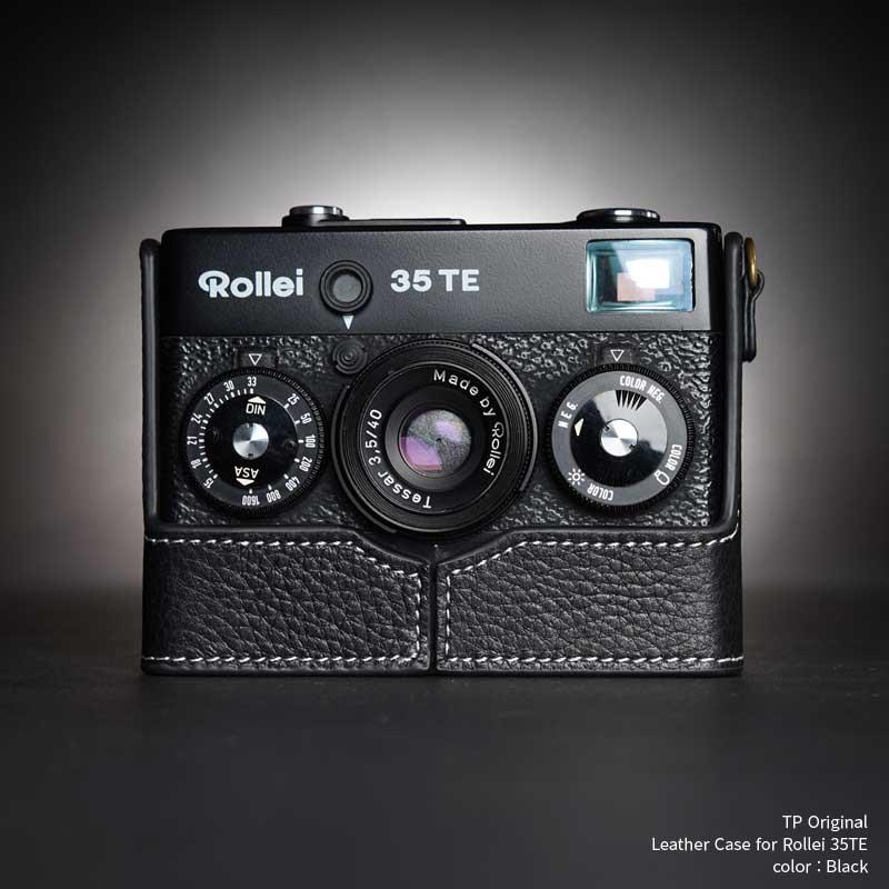 バッグ・ケース, コンパクトカメラ用カメラケース TP Original Rollei 35TE Black TB0535TE-BK