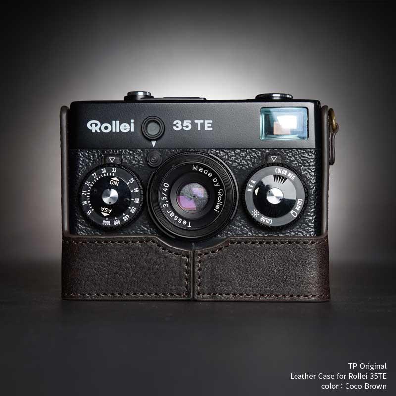 バッグ・ケース, コンパクトカメラ用カメラケース TP Original Rollei 35TE Coco Brown TB0535TE-BK