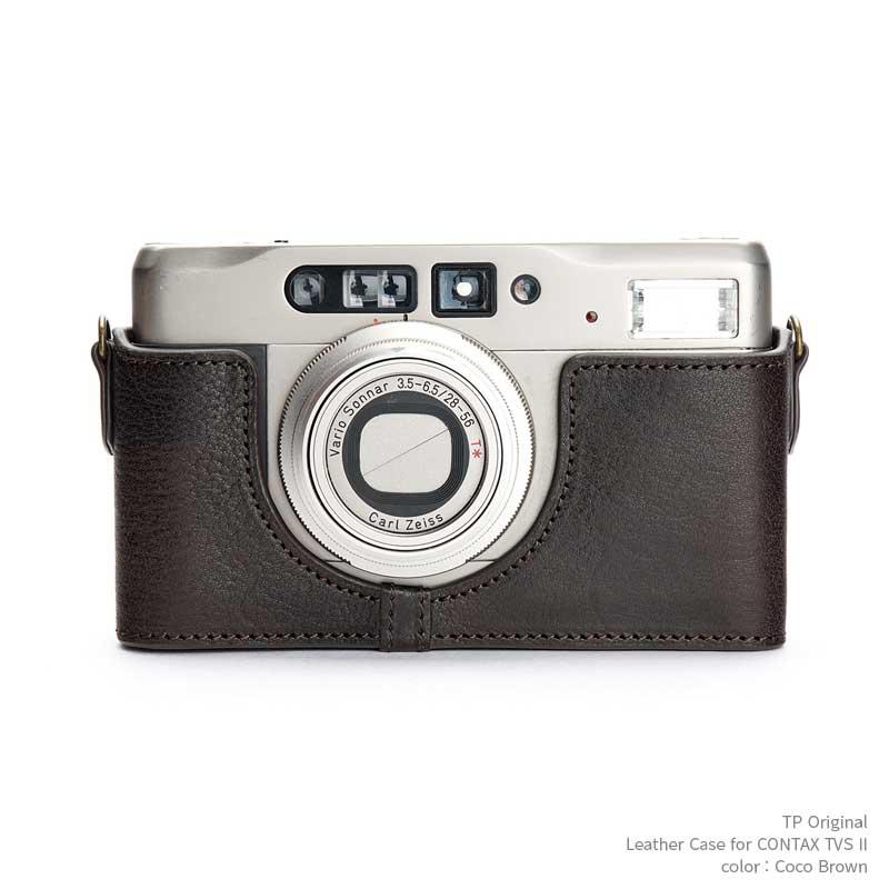 バッグ・ケース, コンパクトカメラ用カメラケース TP Original CONTAX TVS II Coco Brown TB05TVS2-CO