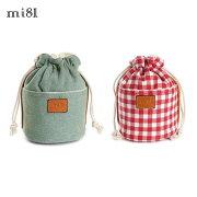 mi81/おしゃれかわいい巾着ポーチ