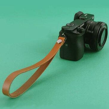 『スマートレター発送!送料無料』 zelenpol/ゼレンポル Leather STRAP CAMEL BROWN おしゃれ 本革 リストストラップ ハンドストラップ キャメル ブラウン ミラーレス カメラ ストラップ シンプル レザー ミラーレス一眼 カメラ女子 デジカメ Mirroless Strap02 MCS02