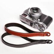 ティーピー オリジナル おしゃれ カメラリストストラップ ブラック ブラウン カメラストラップ クラシック レザーストラップ ハンドストラップ