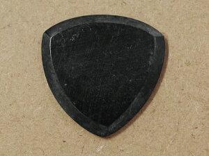�ڿ����ʡۡ����������ʡ� NINEVOLT PEDALS Wild Picks��Cow Horn Tri Pick Chamfer Black Sm...