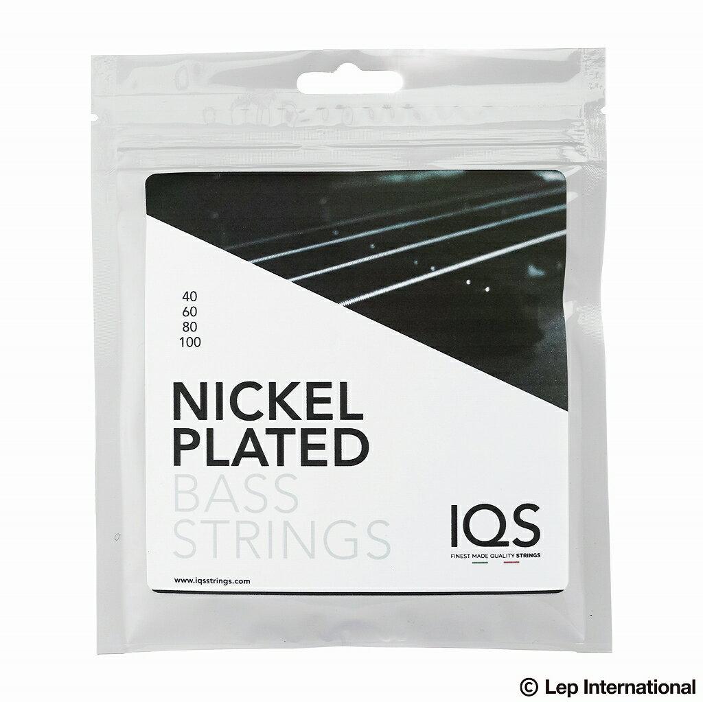 ベース用アクセサリー・パーツ, 弦 IQS Strings NPS40100 Electric Bass Nickel Plated 40-100