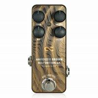OneControlANODIZEDBROWNDISTORTION4K/ディストーションギターエフェクターミニペダル