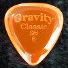 【即納可能】GravityGuitarPicksClassicStandard6.0mmオレンジ
