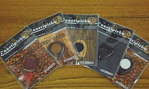 【新商品】【正規輸入品】Essetipicks Speedy Wood :1枚 【即納可能】【メール便対応可能】
