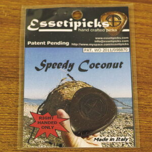 【新商品】【正規輸入品】Essetipicks Speedy Coconut:1枚 【即納可能】【メール便対応可能】