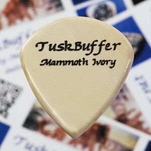 【新商品】【正規輸入品】TuskBuffer Guitar Picks Mammoth Ivory Guitar Pick Jazz III XL 1....