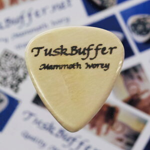 【新商品】【正規輸入品】TuskBuffer Guitar Picks Mammoth Ivory Guitar Pick Small Standard...