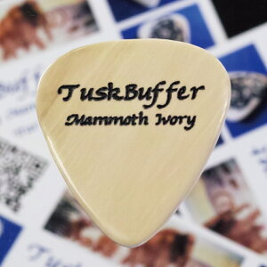 【新商品】【正規輸入品】TuskBuffer Guitar Picks Mammoth Ivory Guitar Pick Standard 1枚...