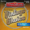 【予約受付中:6月10日入荷予定】ThrobakElectronicsVintageChoiceElginSeriesGuitarStringsNickelWound/RoundCoreX-Light(009-.042)/先取り【代引き不可】