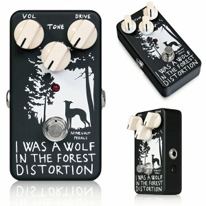 �ڿ����ʡۡ��ӥ塼�������̵����NINEVOLT PEDALS I WAS A WOLF IN THE FOREST DISTORTI...