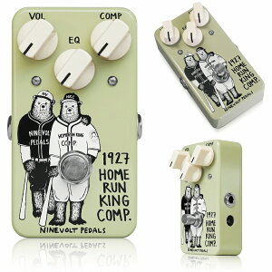 Ninevolt Pedals 1927 Home Run King Comp かわいさと低価格と分かりやすさと