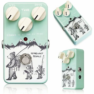Ninevolt Pedals FISHING IS AS FUN AS FUZZ コンセプトはCivil War期のBig Muff