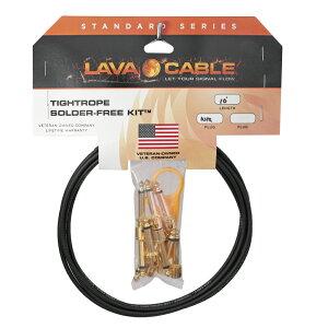 【新商品】【正規輸入品】Lava Cable Gold Plug TightRope Solder Free Kit L字型プラグ 【即...