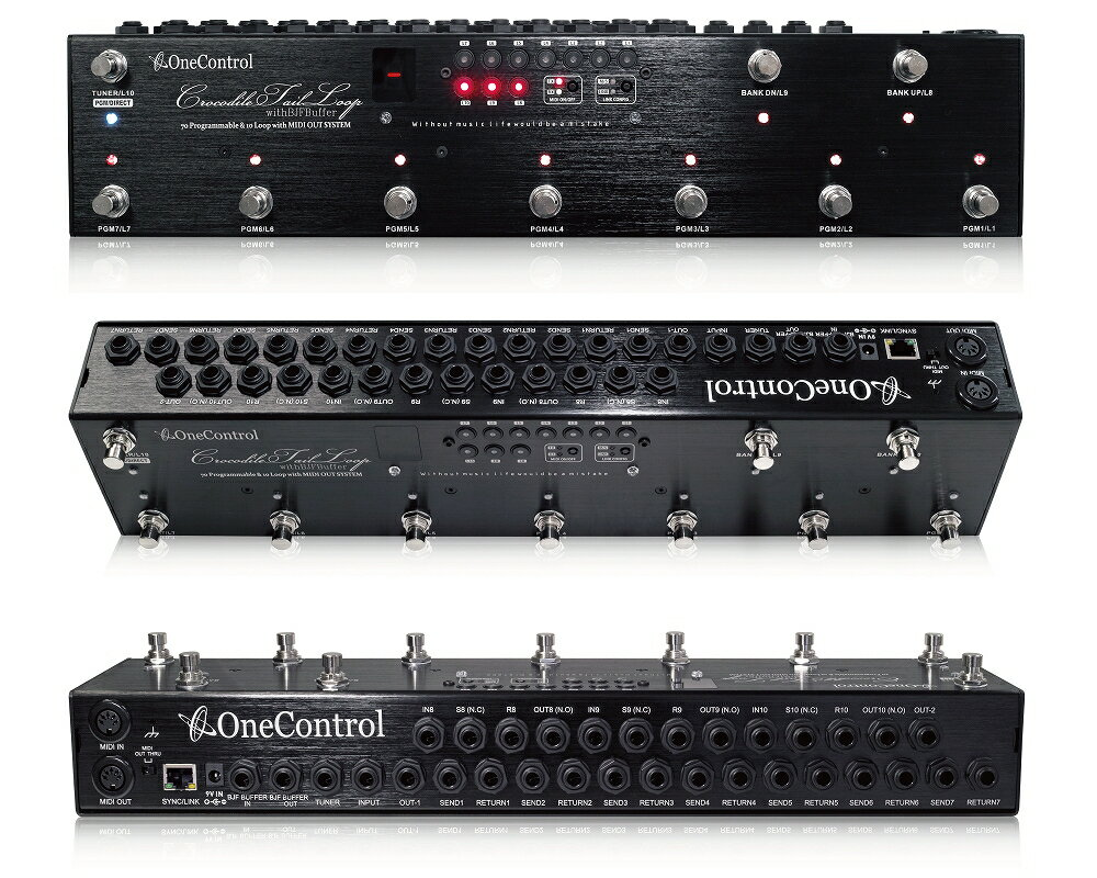 ギター用アクセサリー・パーツ, エフェクター One Control Crocodile Tail Loop OC10