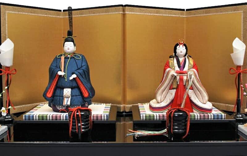 香炉峰 (こうろほう) 正絹 黒艶塗飾台 伝統的工芸品