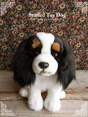 【キャバリア(トライカラー)座り ver.】リアルで可愛い犬のぬいぐるみ【N-MM-D】[ニニアンドキノ]