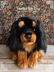 【キャバリア(ブラックアンドタン)座り ver.】リアルで可愛い犬のぬいぐるみ【N-MM-D】[ニニアンドキノ]