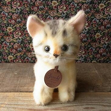 無料ラッピング付き【おすわり アビシニアン ぬいぐるみ】本物 そっくり リアル ペット メモリアル 猫 ネコ
