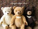 《アンティークな雰囲気のクマのぬいぐるみ》【日本製】【N-STC】【無料ラッピング&カード】【誕生日】【クリスマス】【プレゼント】