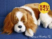 新商品《6月上旬販売予定》【本物そっくりに眠るキャバリア(大)のぬいぐるみ】パーフェクトペット|犬のぬいぐるみ|動くぬいぐるみクリスマス|誕生日|プレゼント|ギフト|お見舞い