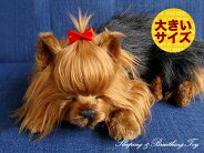 新商品《6月上旬販売予定》【本物そっくりに眠るヨークシャテリア(大)のぬいぐるみ】パーフェクトペット|犬のぬいぐるみ|動くぬいぐるみ|クリスマス|誕生日|プレゼント|ギフト|お見舞い
