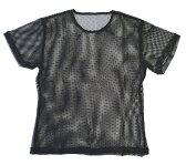 これぞ忍者風?半袖メッシュTシャツ(黒・青・赤)