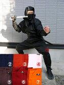 【レンタル8泊9日】大人用忍者衣装伊賀Versionフル装備(9点セット)
