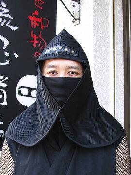 忍者頭巾&口当て≪半蔵モデル≫ninjawear