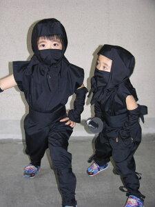子ども用忍者衣装夏Version(フル装備)child ninja wear