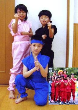 子ども用忍者衣装夏Version(手甲・頭巾無し)childninjawear