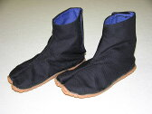忍者衣装に良く合う子ども用地下足袋(黒)15.0-18.0cm