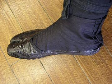 忍者衣装に良く合う地下足袋(黒)