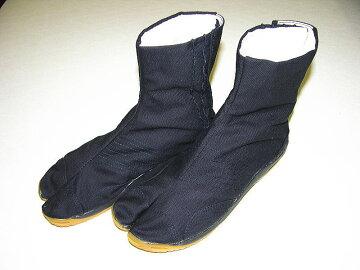 忍者衣装に良く合うエアー入り地下足袋(黒)子どもサイズ