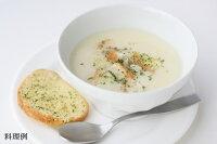 日本スープの有機野菜ポタージュの朝食ポタージュの料理例です。無添加、無脂肪の美味しいポタージュです。離乳食、介護食にもお薦めです。