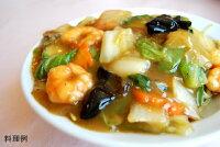 日本スープの丸どりだしデラックスの八宝菜の料理例です。ガラスープより格段に美味しい丸鶏ブイヨンです。無添加無脂肪で離乳食から介護食、普段のお食事まで幅広くお使い頂けます