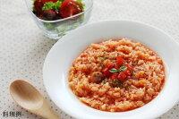 日本スープの丸どりだしデラックスの洋風リゾットの料理例です。ガラスープより格段に美味しい丸鶏ブイヨンです。無添加無脂肪で離乳食から介護食、普段のお食事まで幅広くお使い頂けます