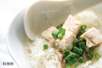 日本スープの丸どりだしデラックスのスープご飯の料理例です。ガラスープより格段に美味しい丸鶏ブイヨンです。無添加無脂肪で離乳食から介護食、普段のお食事まで幅広くお使い頂けます
