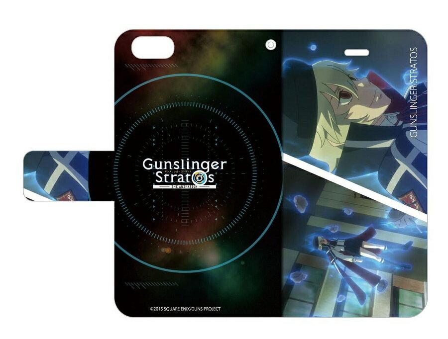 手帳型スマホケース iPhone5/5s/SE専用 ガンスリンガー ストラトス 05/レミー・オードナー画像