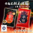 送料無料 [辛麺屋 桝元] 宮崎 辛麺 桝元 2種 食べ比べ