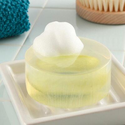 お中元 天蚕シルク石鹸 有限会社アルマ・福島県  国産繭 最高峰ソープ ミクロ泡で美しく